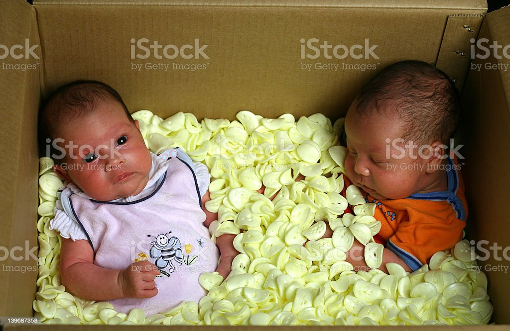 Baby delivery royalty-free stock photo