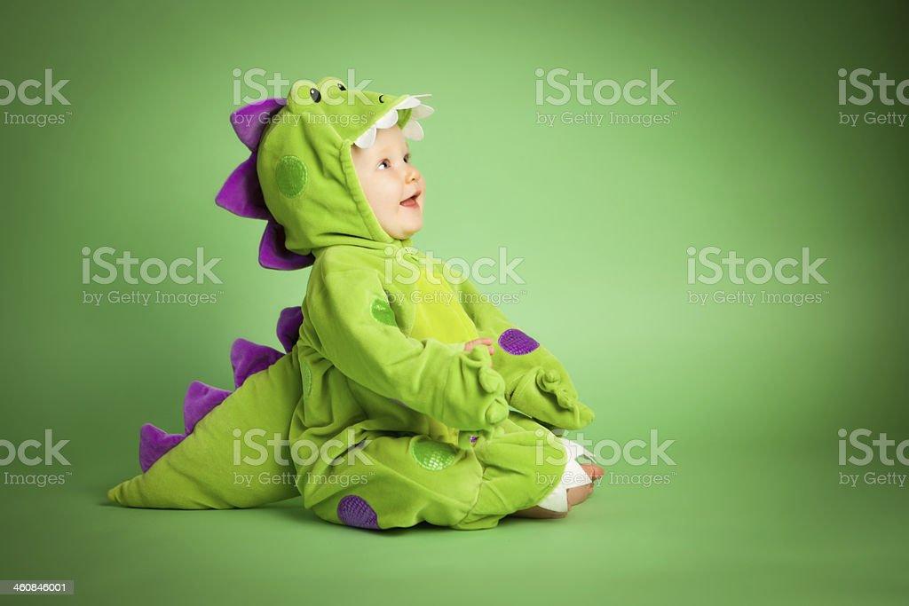 Baby Dinosaur stock photo