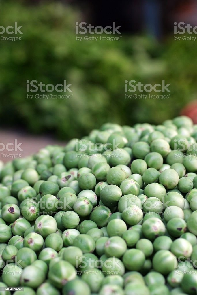 Baby Eggplants royalty-free stock photo