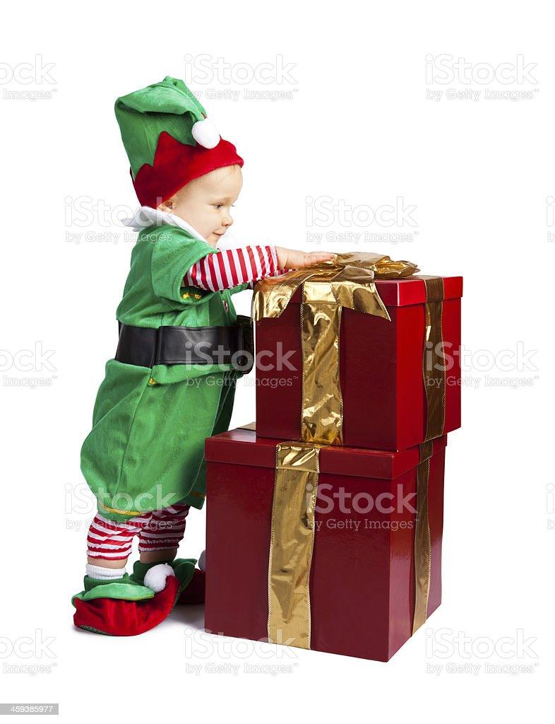 Baby Elf royalty-free stock photo