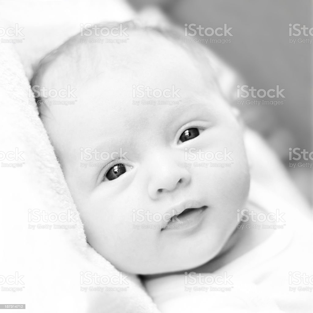 Baby Expression royalty-free stock photo