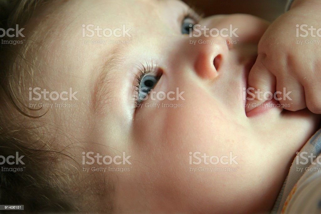 Baby Face royalty-free stock photo