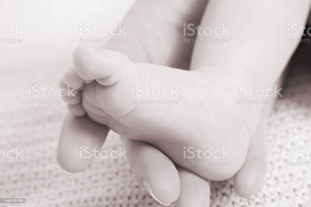 Baby Foot royalty-free stock photo
