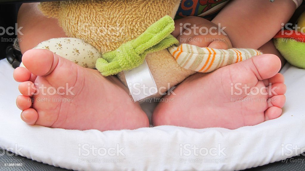 Baby foot royalty-free stock photo