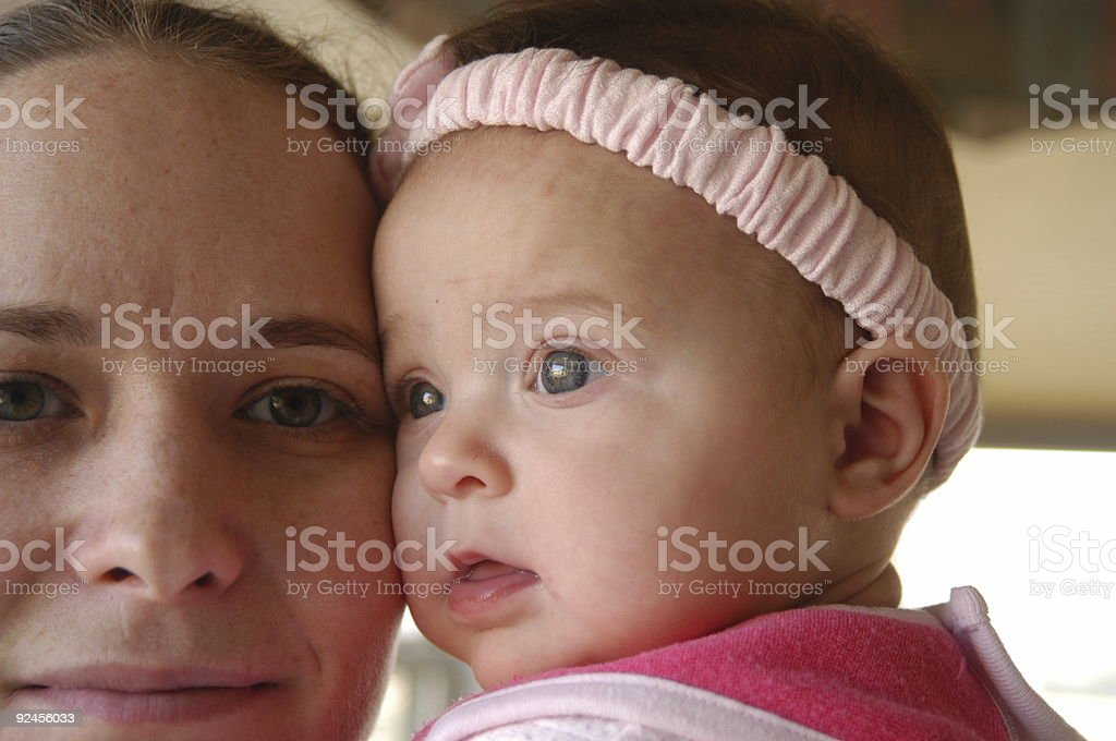 Baby Gaze royalty-free stock photo
