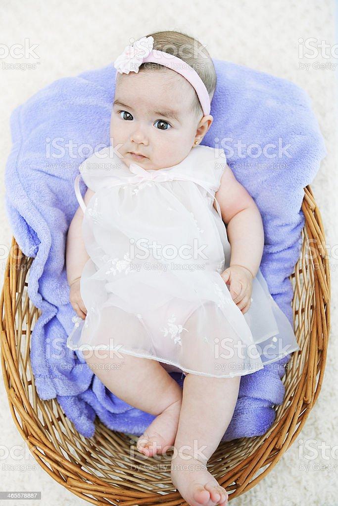 Baby Girl royalty-free stock photo