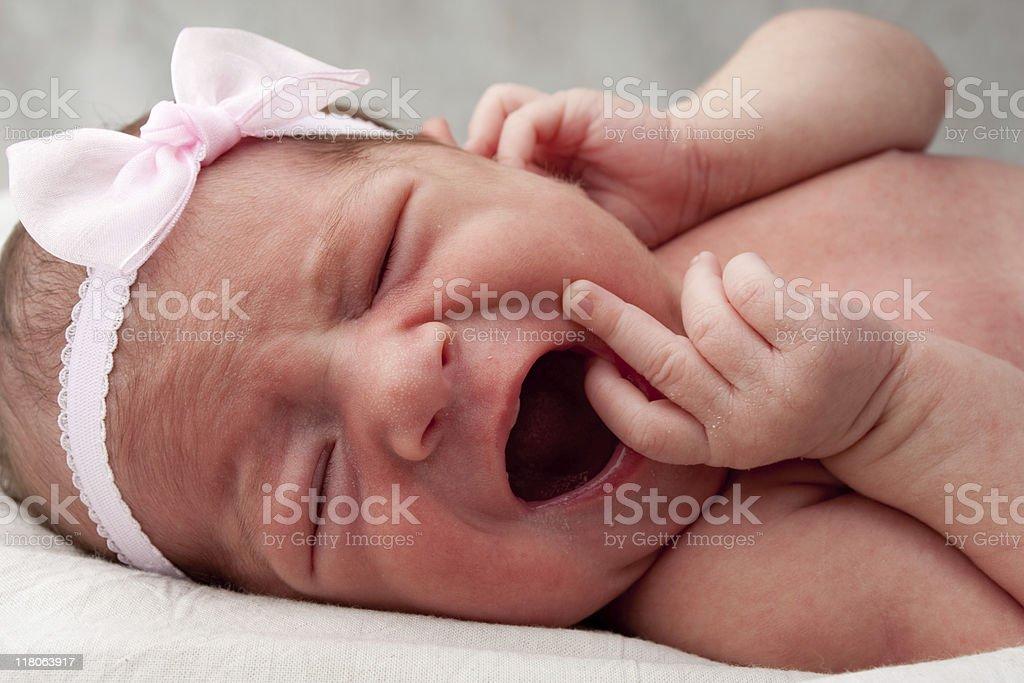 Baby Girl Series royalty-free stock photo
