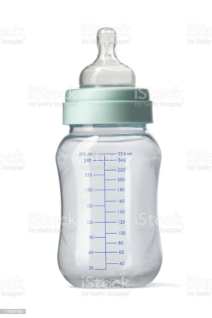 Baby: Bottle stock photo