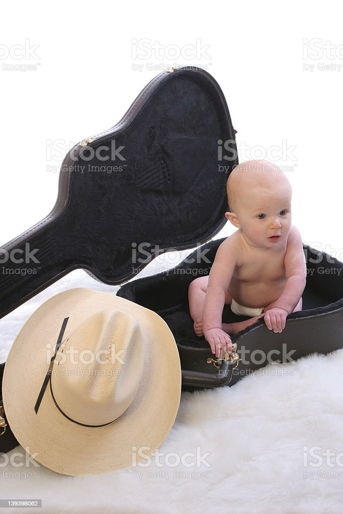 Baby Guit Case1 royalty-free stock photo