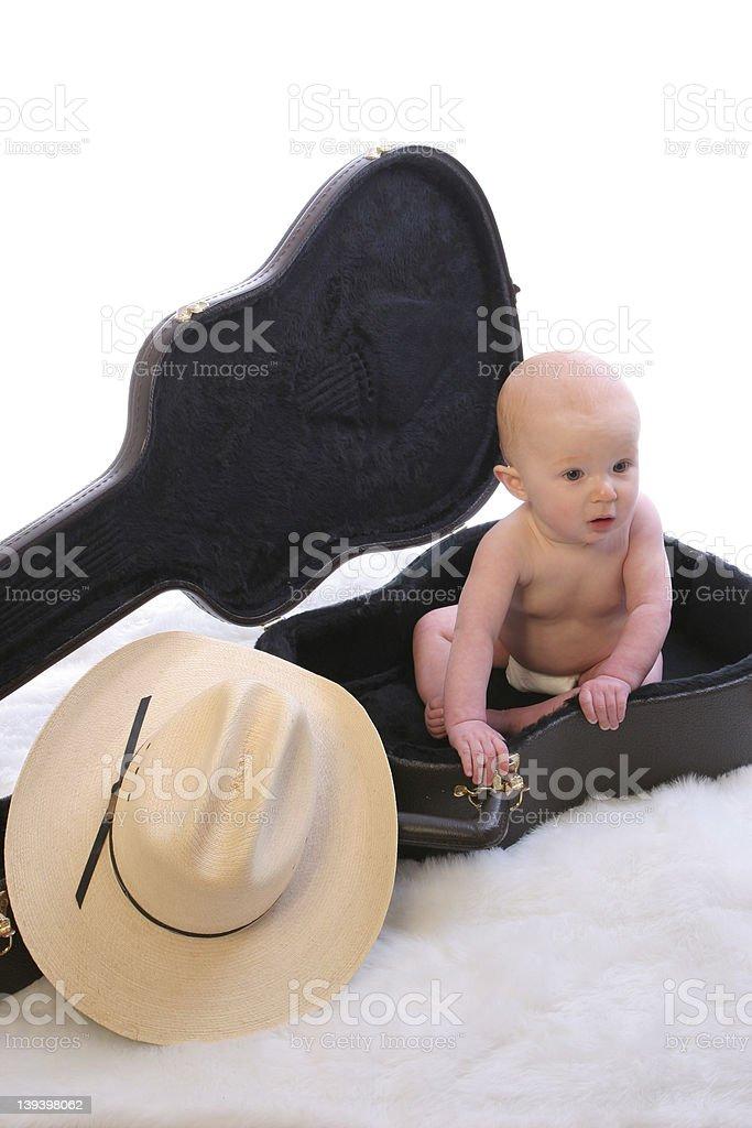 Baby Guit Case1 stock photo