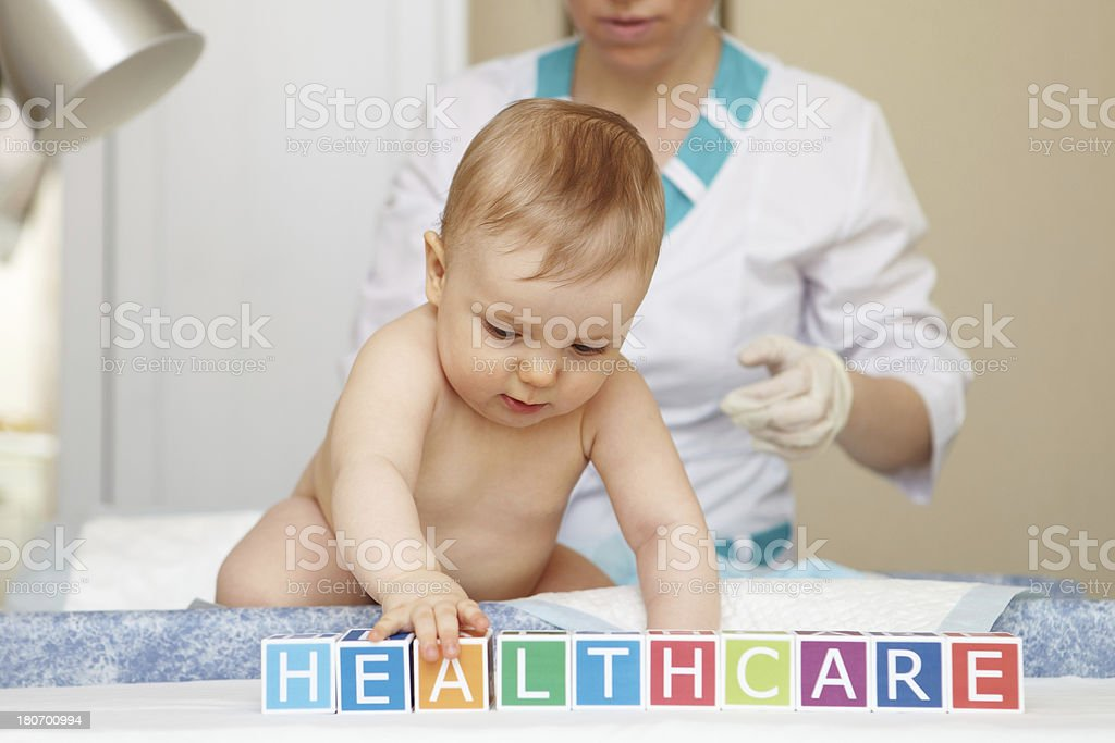 Baby healthcare and treatment. General concept. royalty-free stock photo
