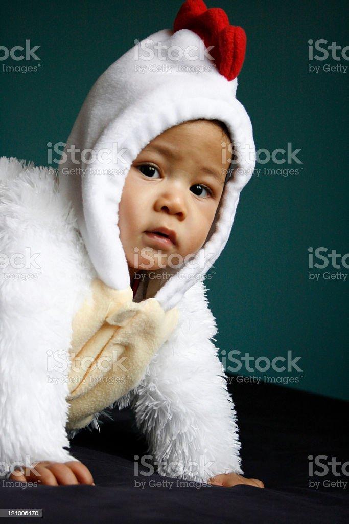 Baby in Costume stock photo
