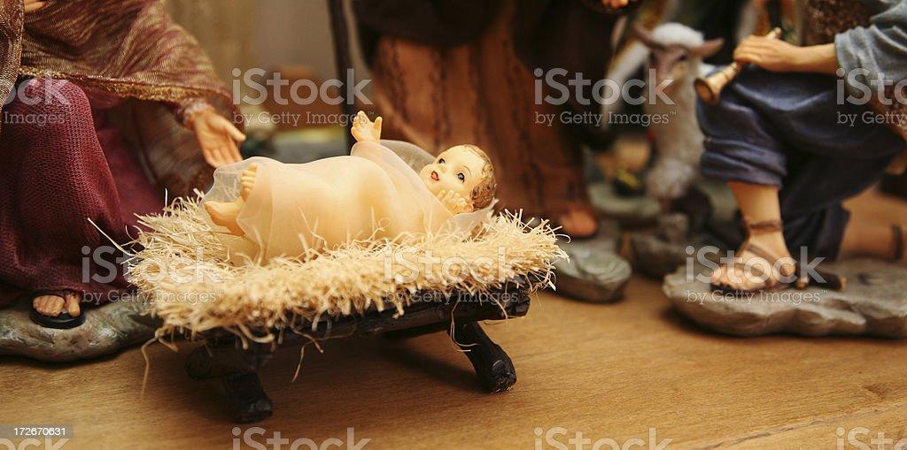baby jesus stock photo
