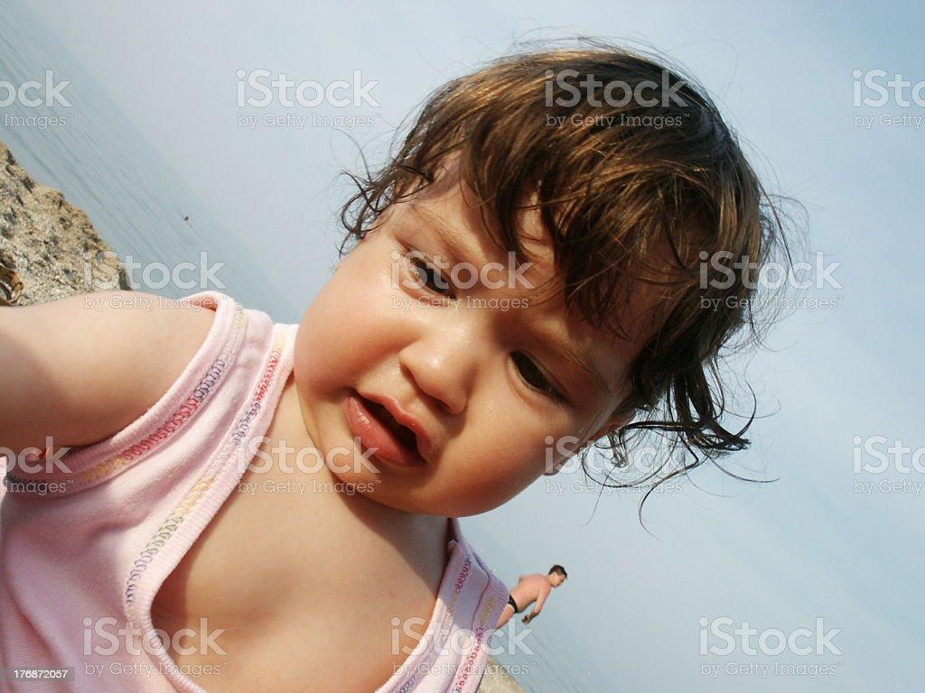 baby Mila royalty-free stock photo