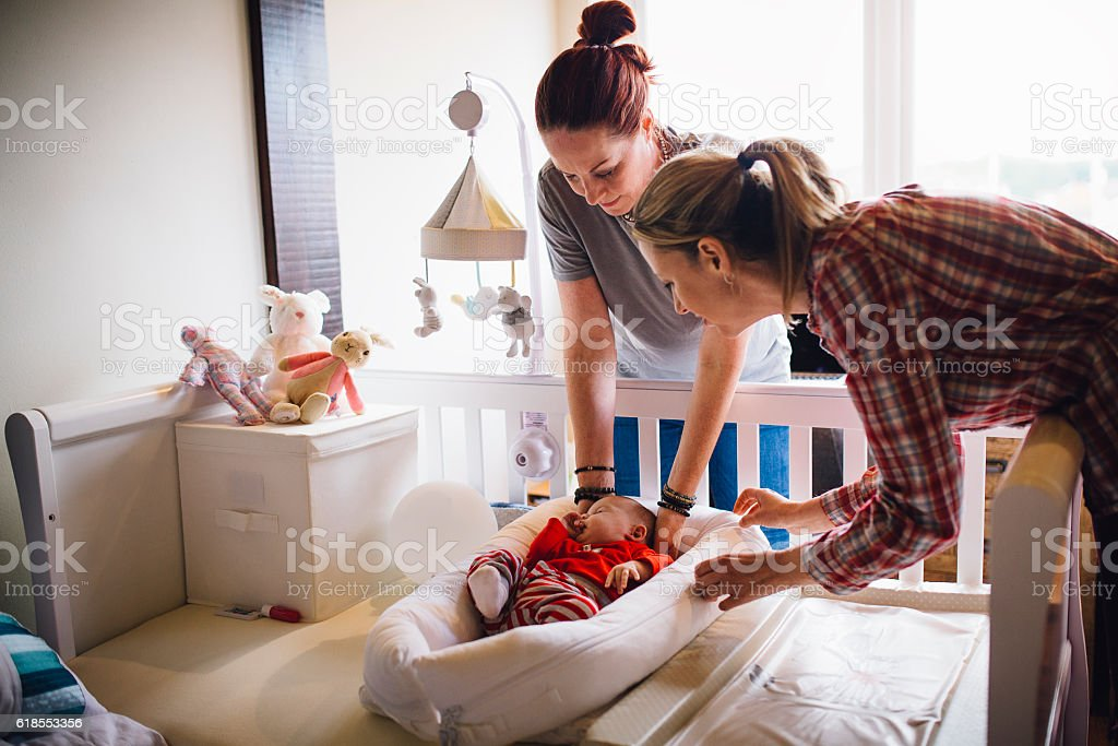 Baby Naptime stock photo
