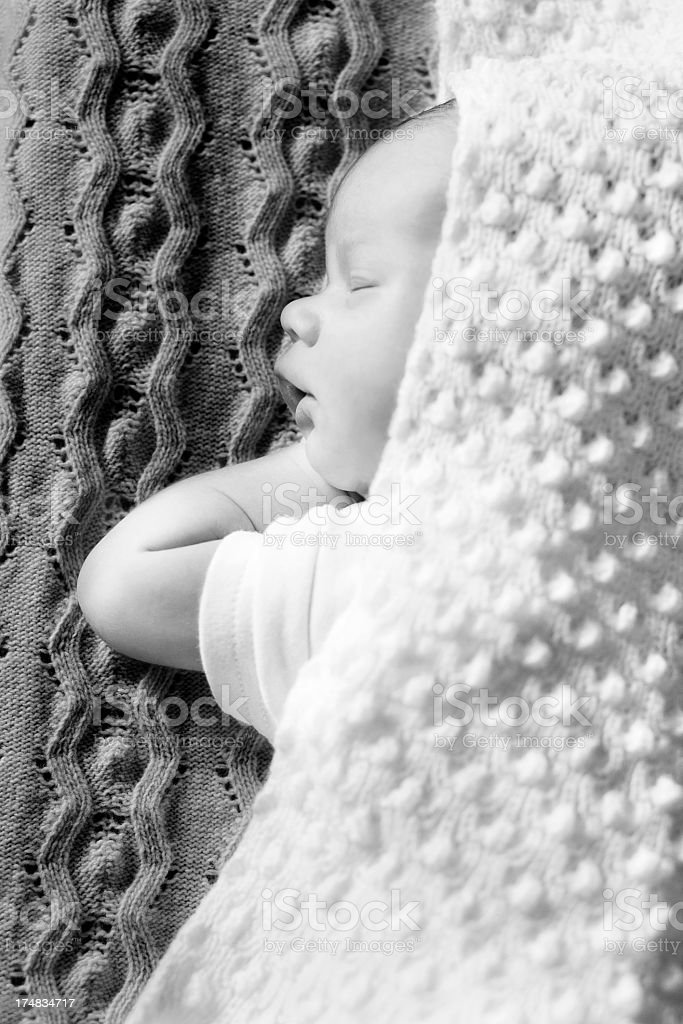 Baby newborn royalty-free stock photo