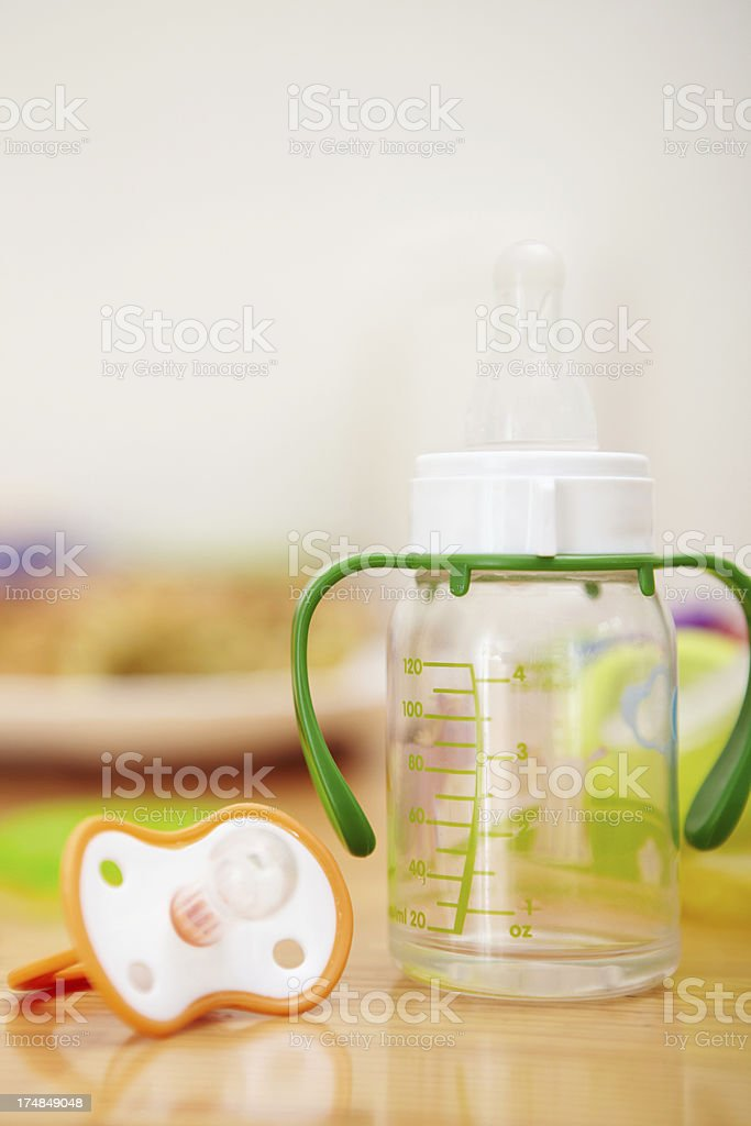 Baby nipples royalty-free stock photo