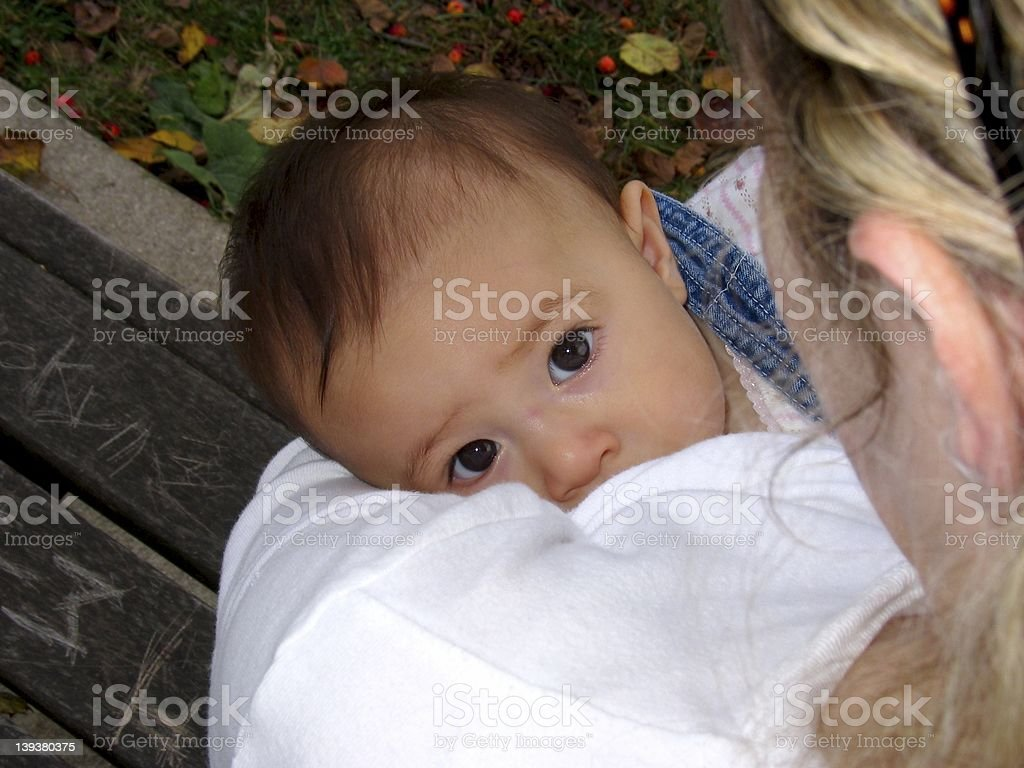 Baby - Nursing royalty-free stock photo