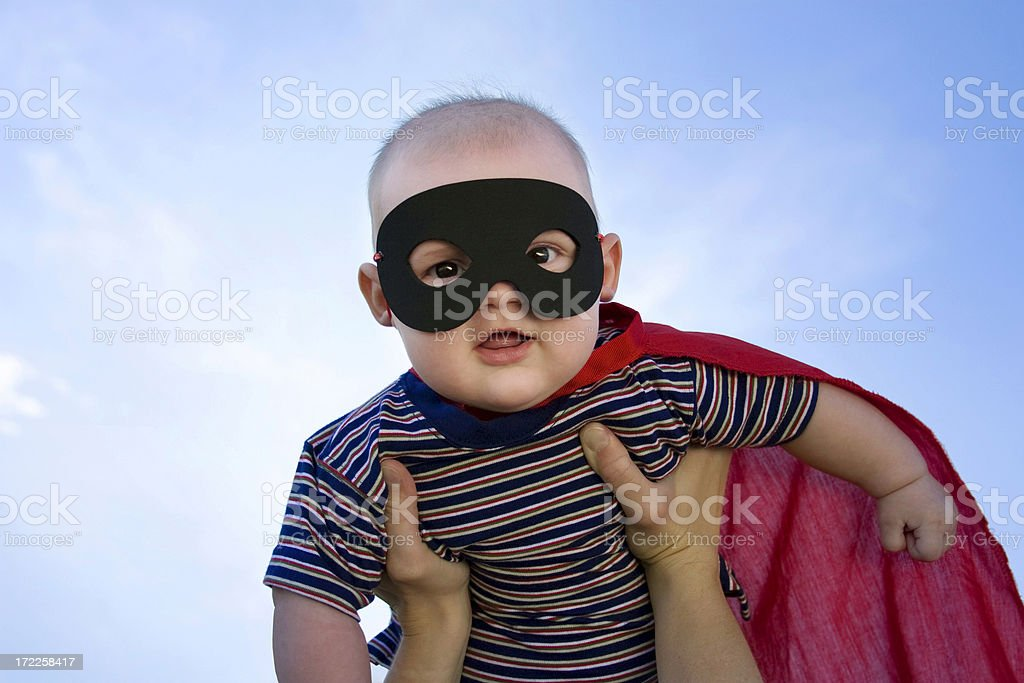 Baby of Steel stock photo