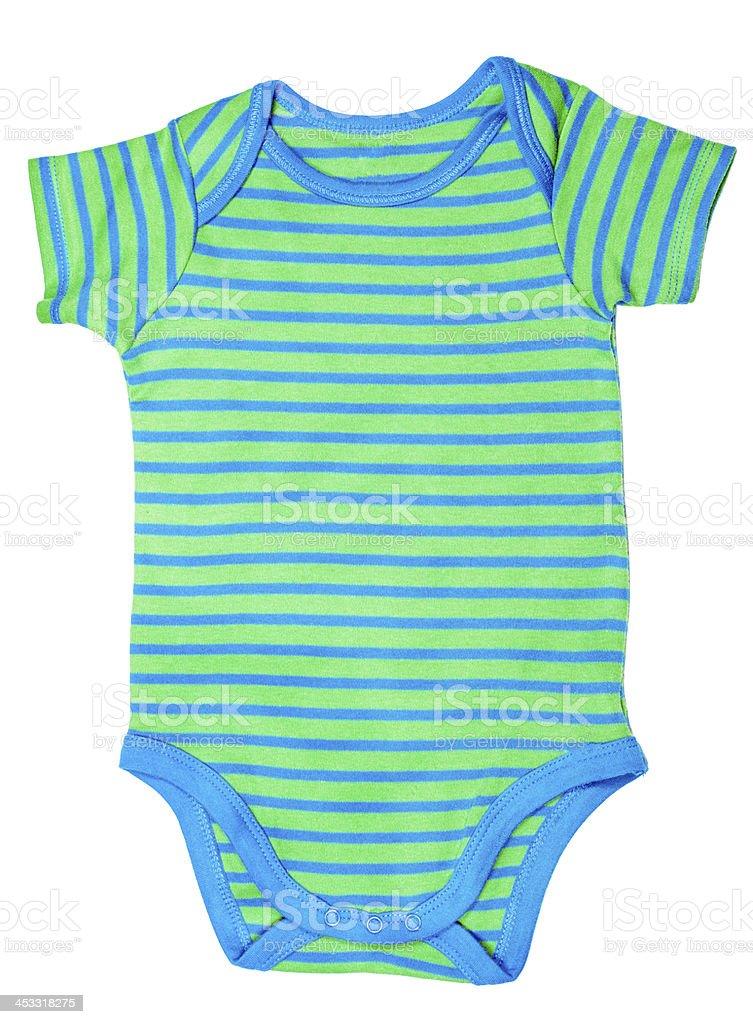 Baby onesie or jump suit stock photo