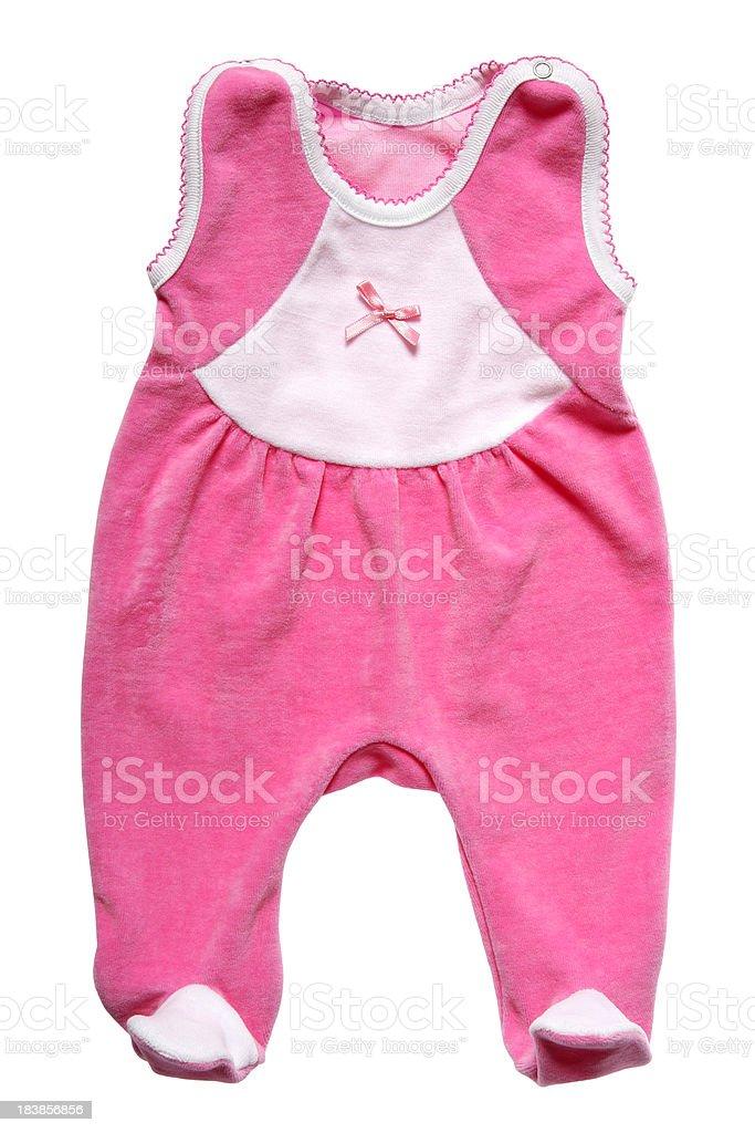 Baby Overalls stock photo