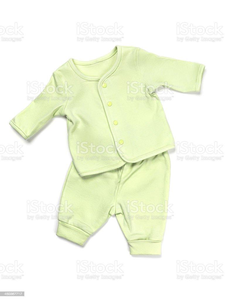 Baby pajama set stock photo
