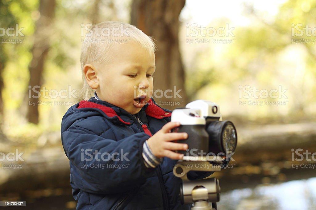 baby photographer royalty-free stock photo