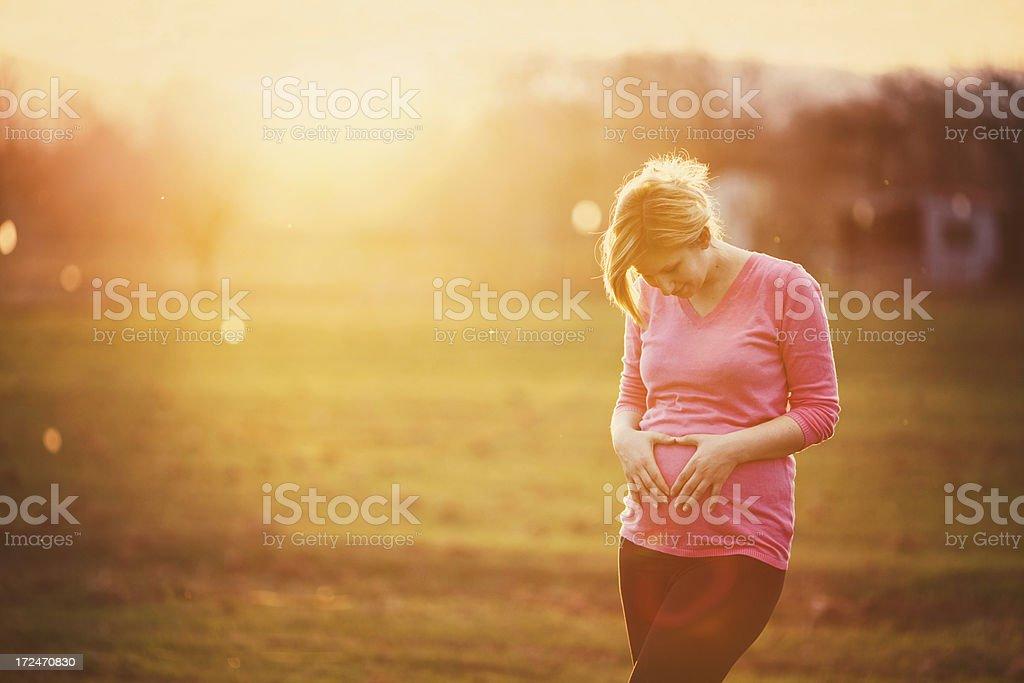I (heart) baby royalty-free stock photo