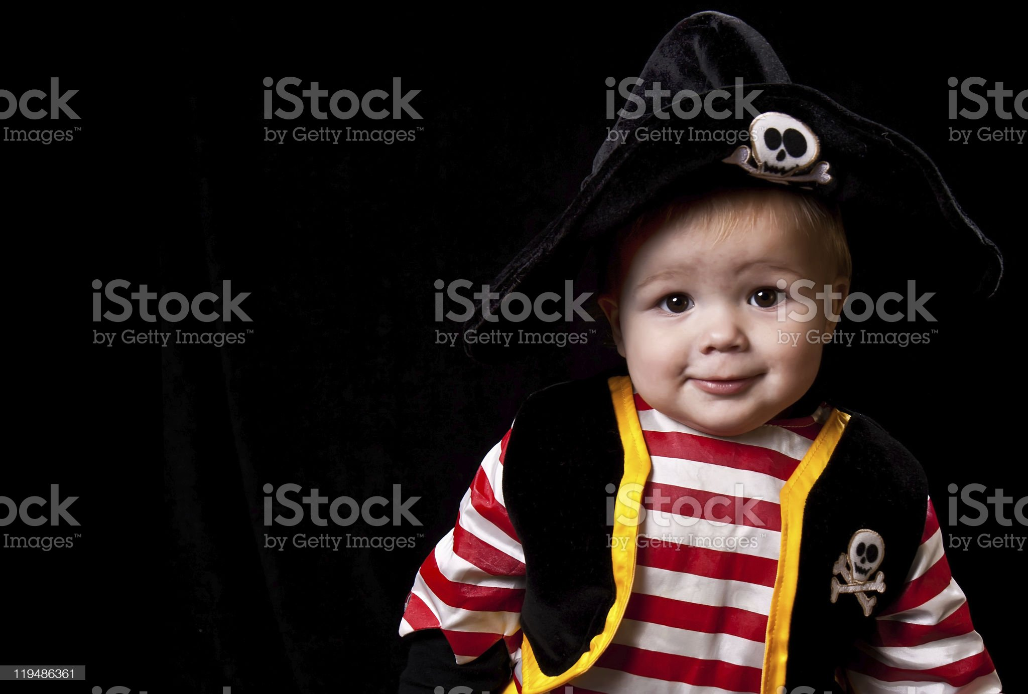 Baby Pirate royalty-free stock photo