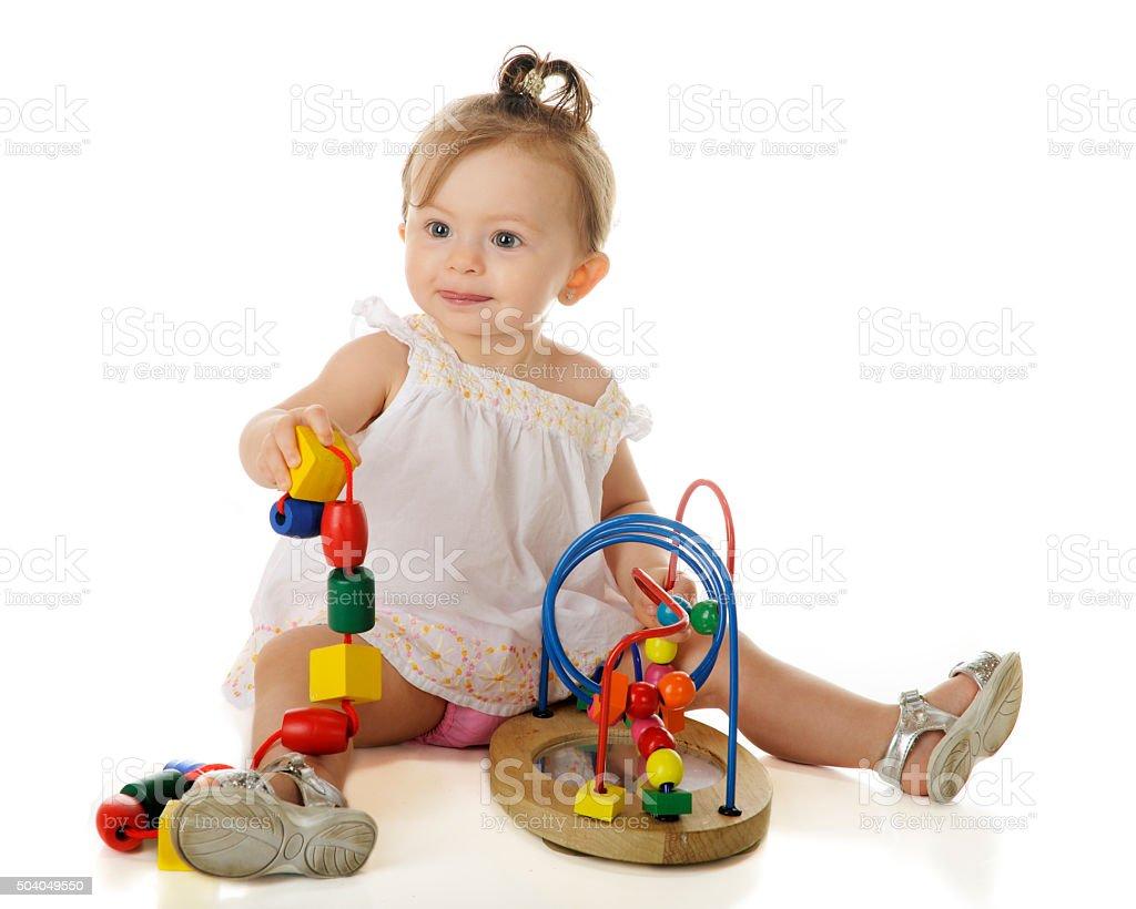 Baby Play stock photo