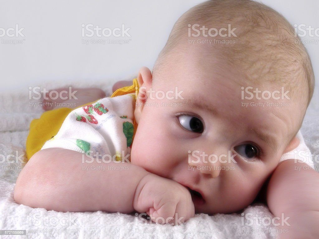 baby portrait. royalty-free stock photo