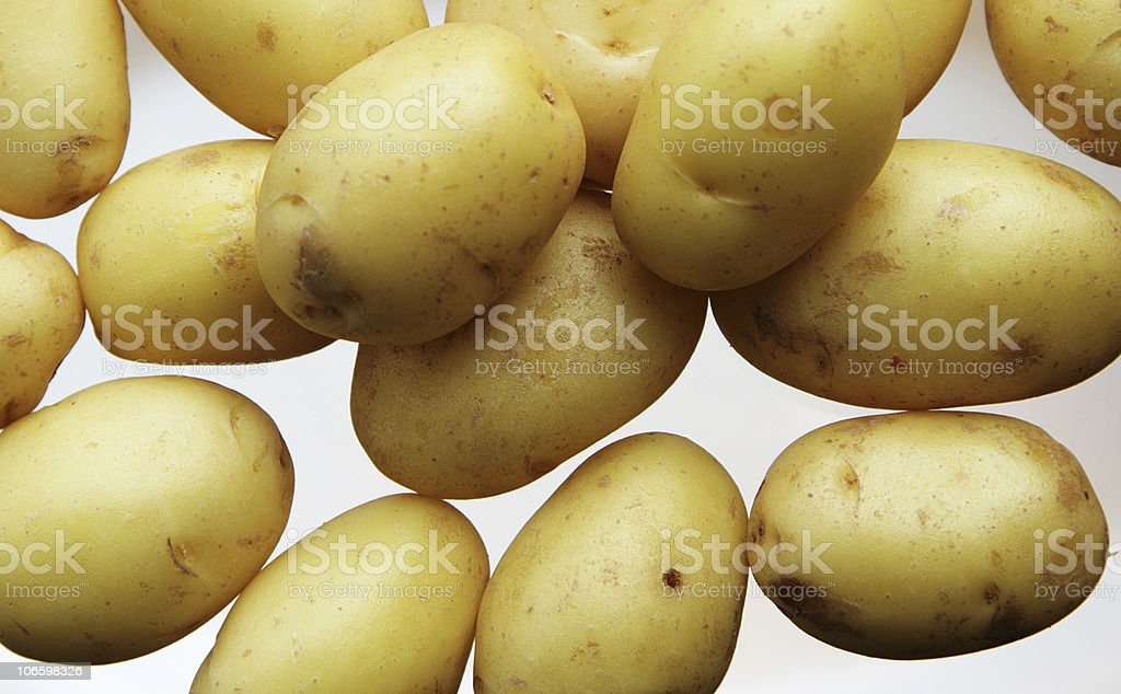 baby potatoes royalty-free stock photo
