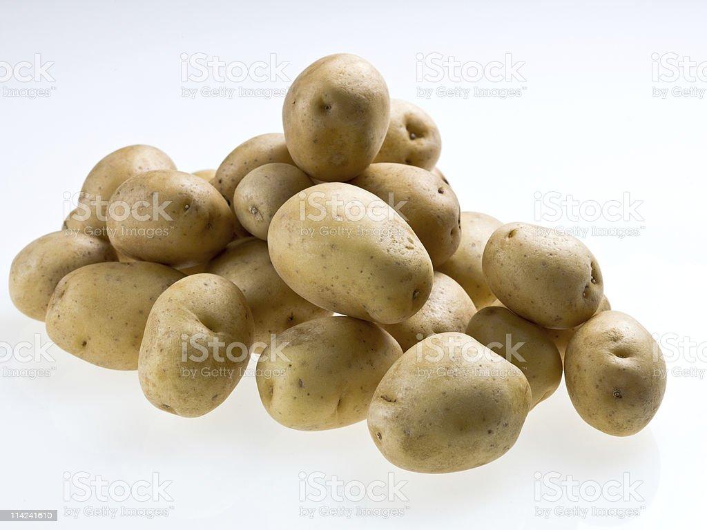 Baby Potatoes stock photo