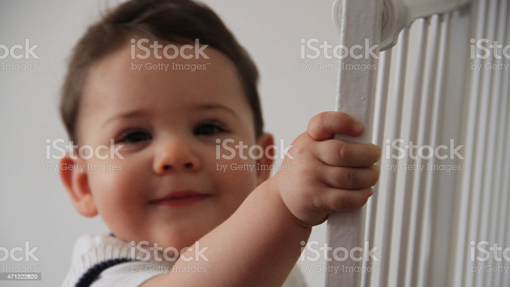 Baby prision stock photo