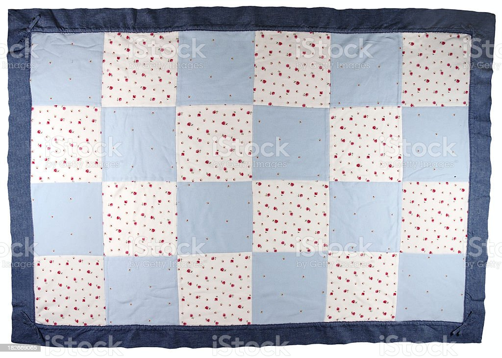 Baby Quilt royalty-free stock photo