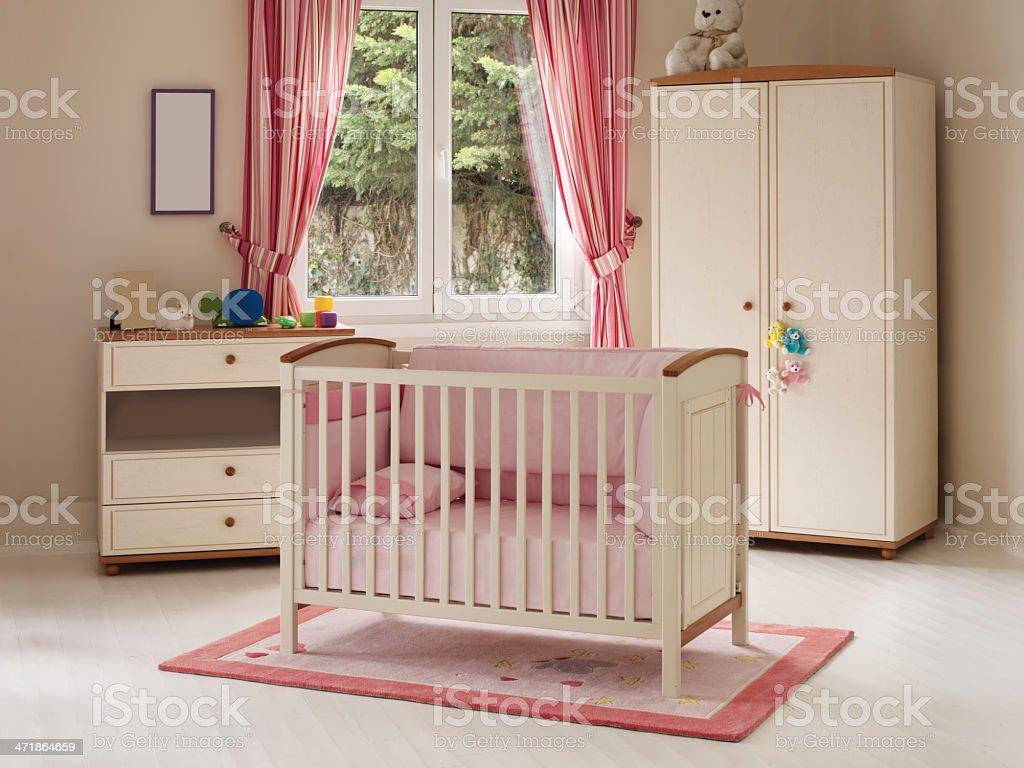 Baby room royalty-free stock photo
