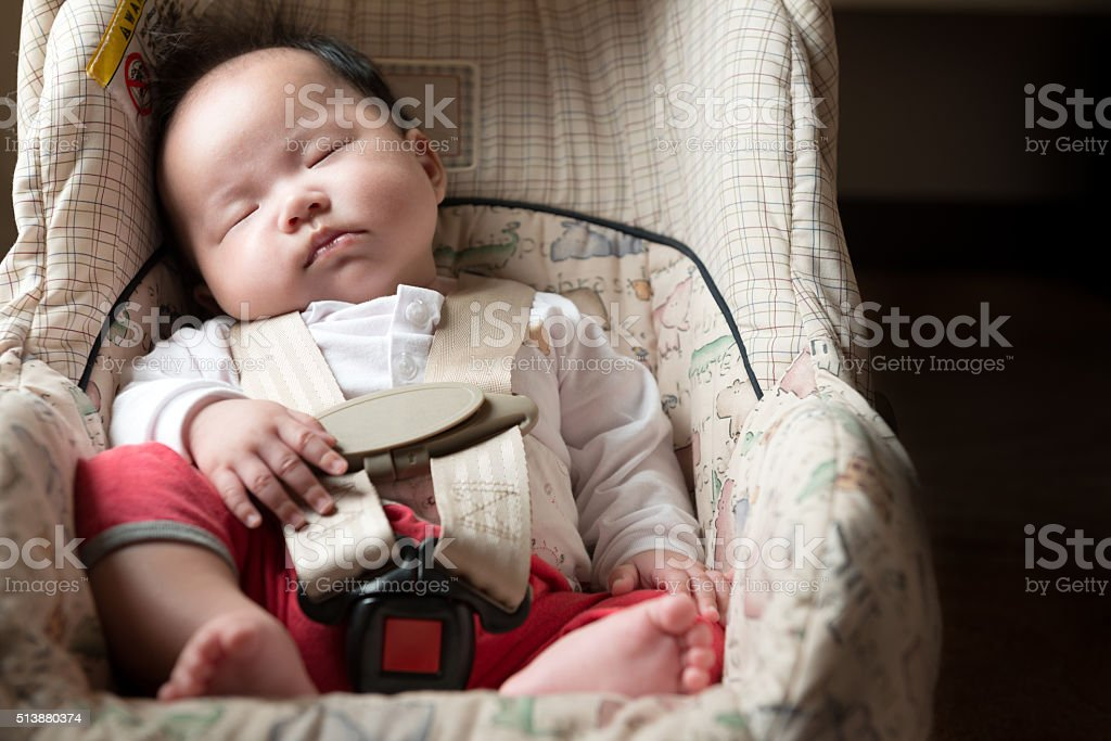 Baby safety concept stock photo