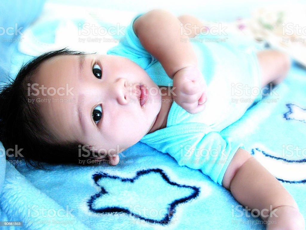 Baby-Sam Lizenzfreies stock-foto