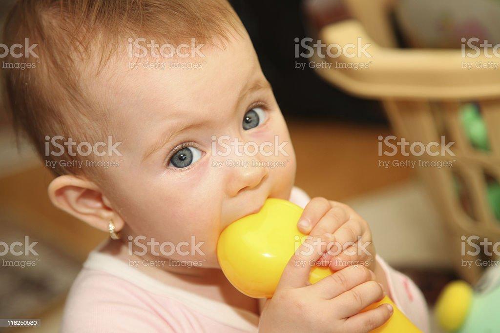 Baby series royalty-free stock photo