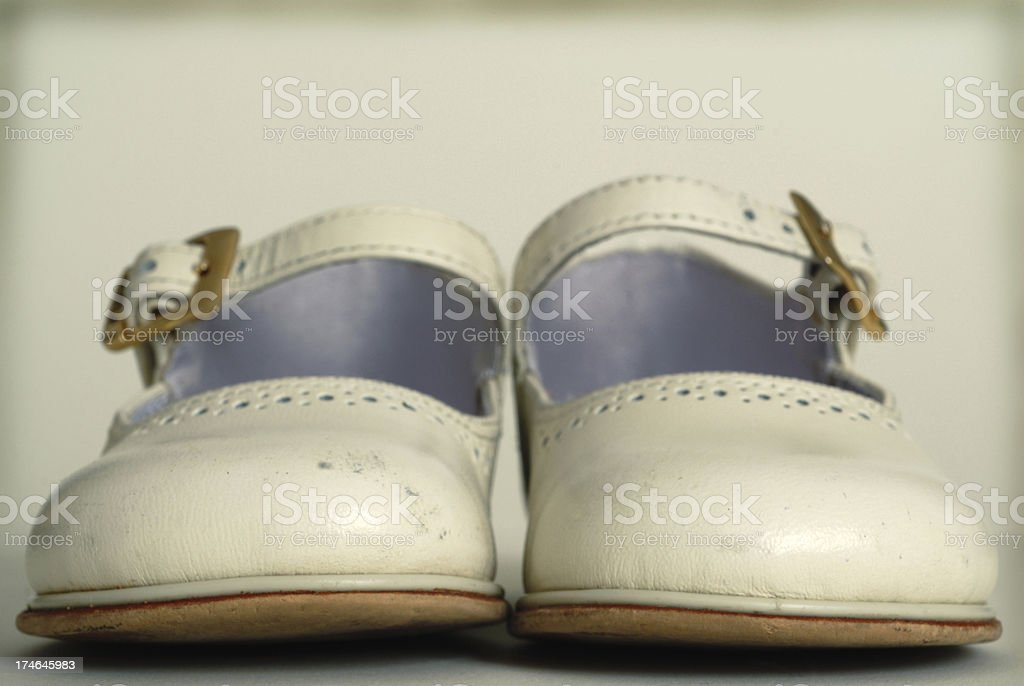 Baby Shoe stock photo