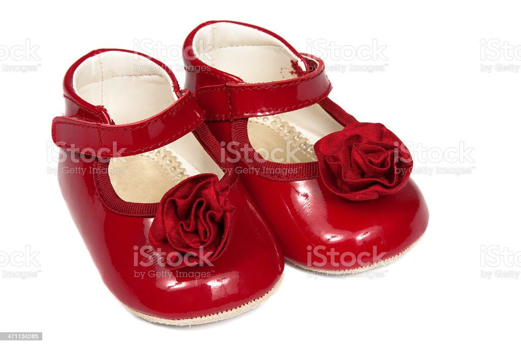 Baby Shoes royalty-free stock photo