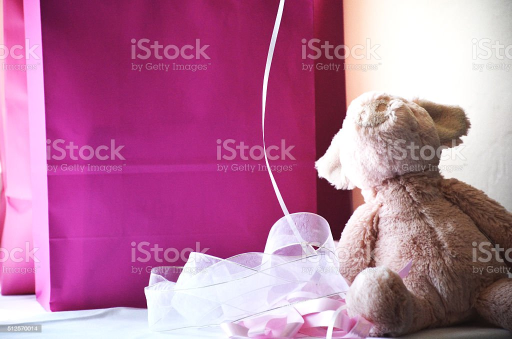 Baby Shower Gifts stock photo