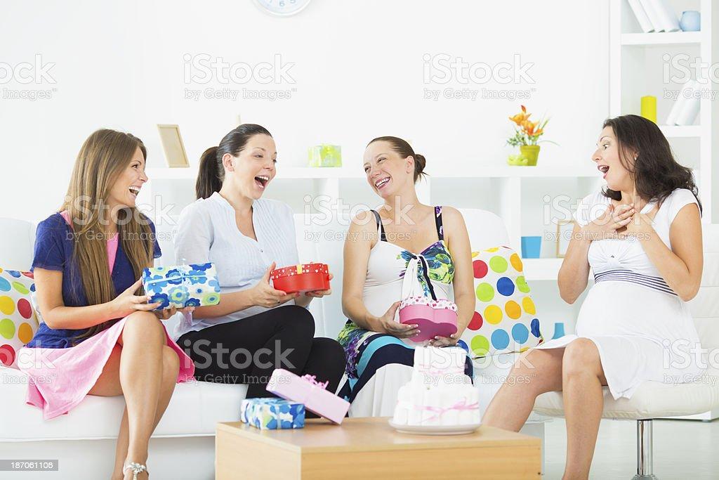 Baby shower. stock photo