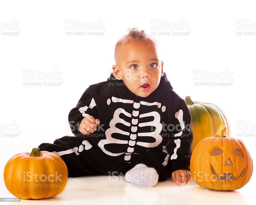 Baby Skeleton stock photo