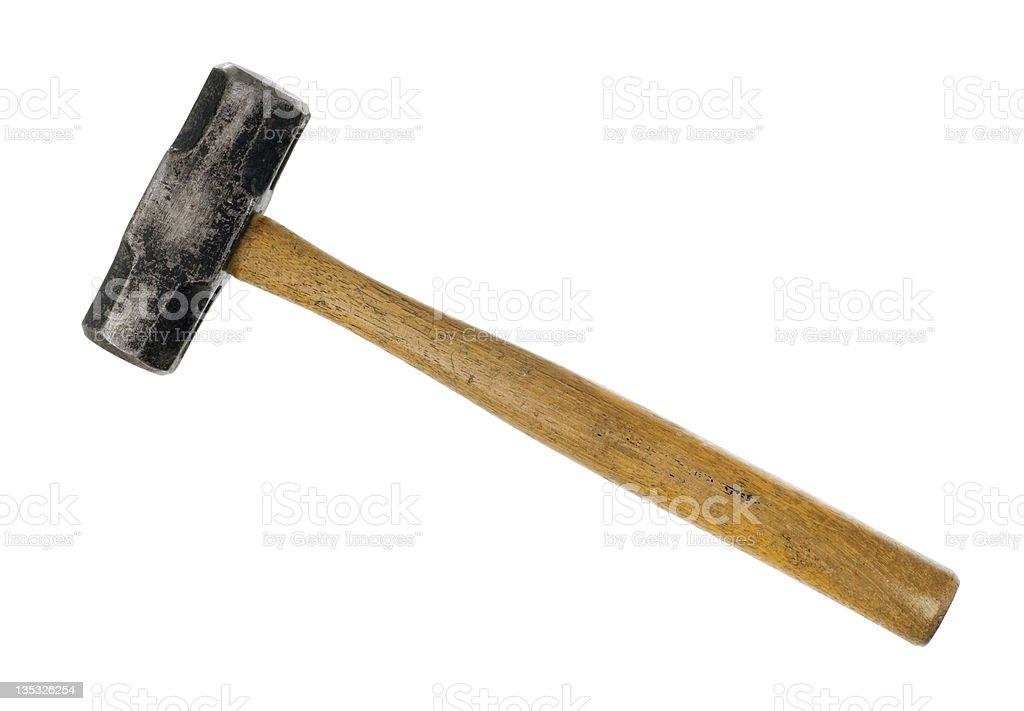 Baby Sledge Hammer stock photo