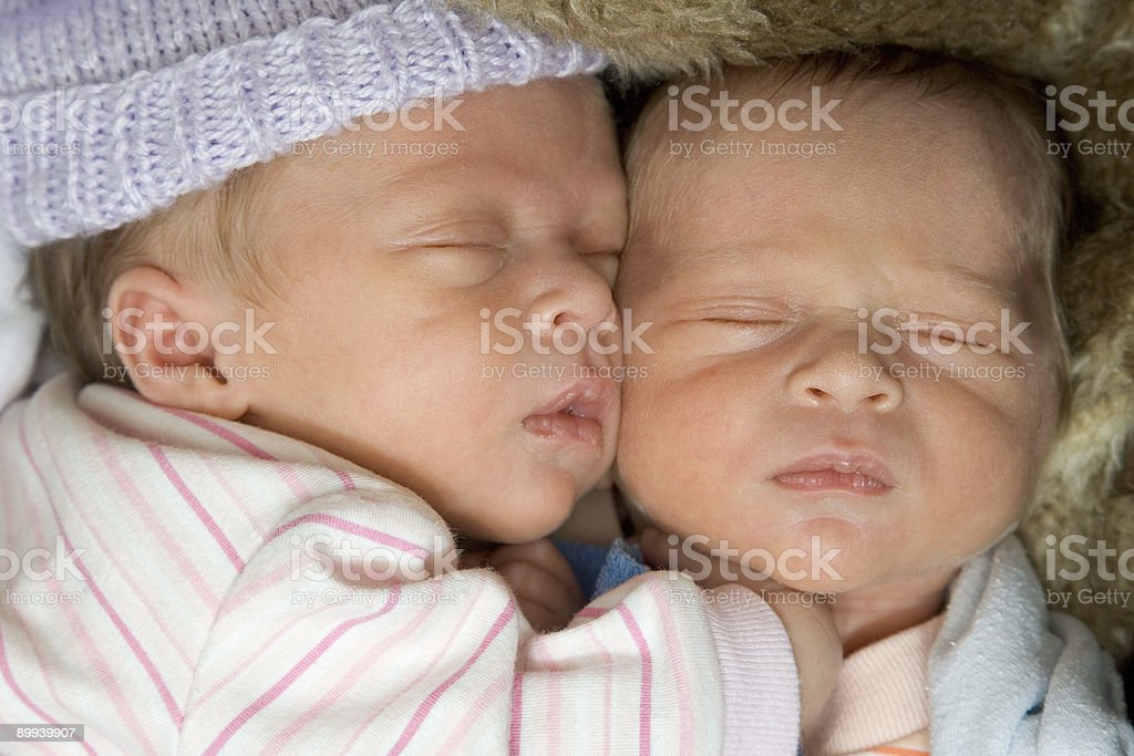 Baby - Sleeping Beauties stock photo