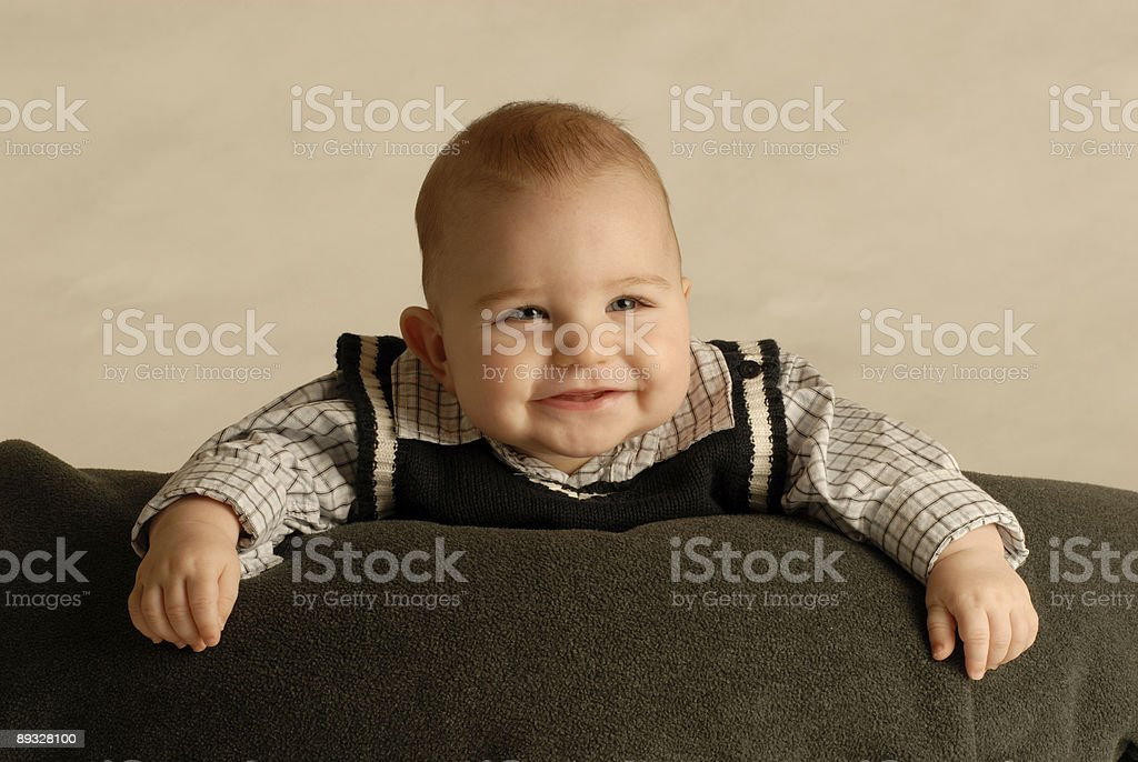 baby smiling royalty-free stock photo