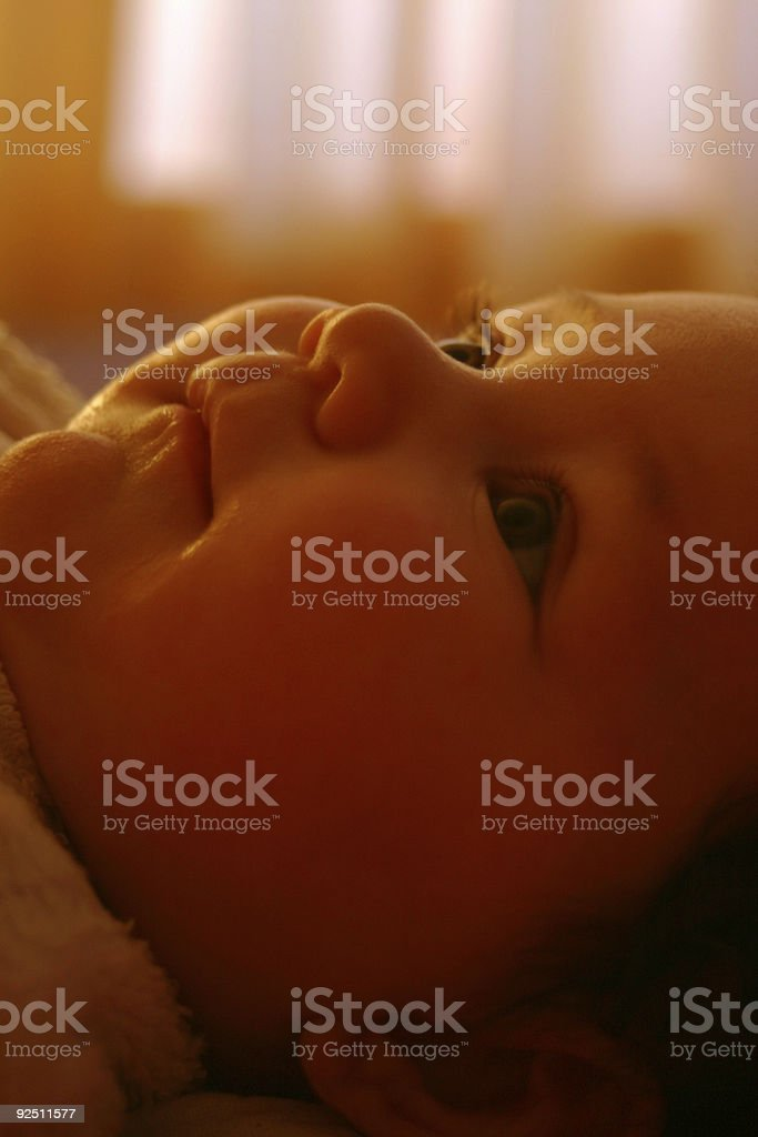 Baby Soft tone royalty-free stock photo