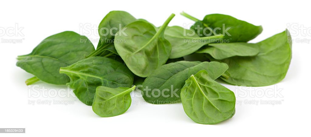 Baby spinach royalty-free stock photo