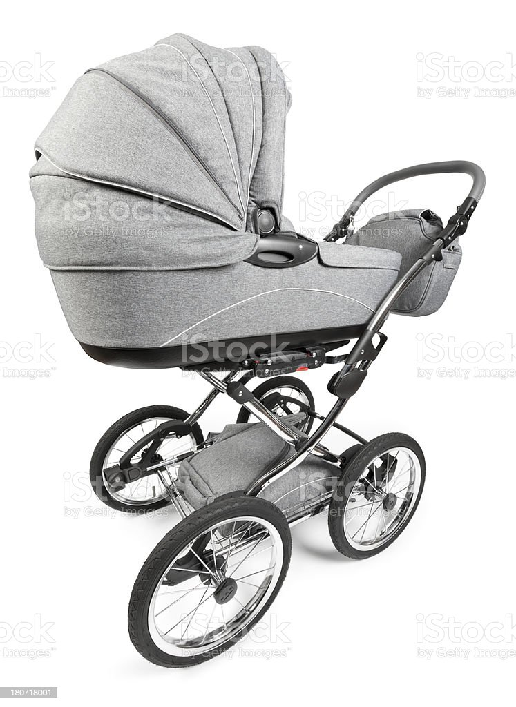 Baby Stroller royalty-free stock photo
